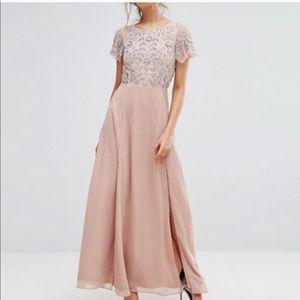 ASOS Frock & Frill Sequin Maxi Dress